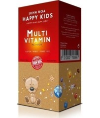 Worts John Noa Happy Kids MultiVitamin 90ταμπλέτες