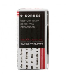 Korres  Vetiver Root Green Tea Cedarwood  για άνδρες