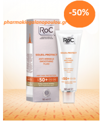 ROC SOLEIL-PROTECT ANTI-WRINKLE SMOOTHING FLUID SPF50 50ML