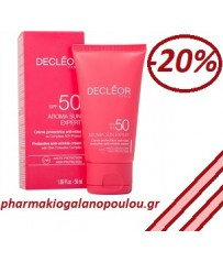 DECLEOR, Protective Anti- Wrinkle Face Cream SPF 50 50ml,αντηλιακή κρέμα,