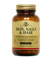 SOLGAR SKIN NAIL S AND  HAIR FORMULA  60  TAB.