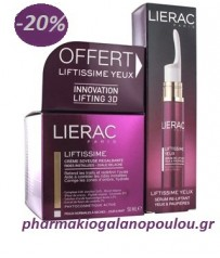 Lierac Πακέτο Liftissime Creme Soyeuse 50ml + Lierac Liftissime Yeux&Paup Serum fl.pompe 15ml