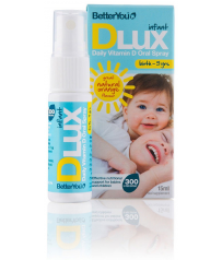 BetterYou DLux Infant Vitamin D 400iu 15ml