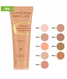 COVERDERM PERFECT LEGS No5 WATERPROOF MAKE-UP FOR LEGS & BODY 24h LASTING SPF16 50ml