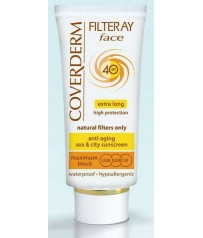 COVERDERM Filteray Face Tinted SPF40 Light Beige