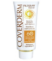 COVERDERM Filteray Face Tinted SPF60 Light Beige