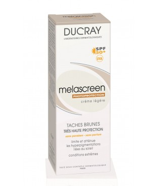 Ducray Melascreen Photoprotection Creme Legere SPF 50+, 40ml