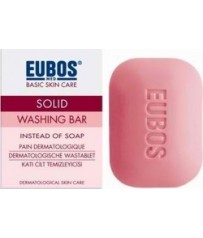 EUBOS SOLID RED, 125 gr Πλάκα Σαπουνιού