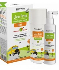 FREZYDERM LICE FREE SET (L.F.SH+L.F.LOT 2x125ml)
