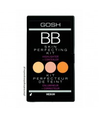 GOSH BB SKIN PERFECTING KIT – HIGHLIGHT & CONCEALER 02 MEDIUM