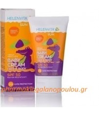 Helenvita Sun Baby Cream Face & Body SPF50 100ml