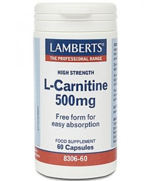 LAMBERTS L-Carnitine 500mg (60 caps)
