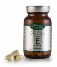 Power Health Classics Platinum Range VITAMIN E, 30 κάψουλες