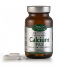 Power Health Classics Platinum Range Calcium Plus, 30 δισκία