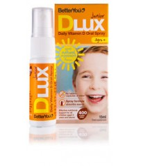 BetterYou DLux Junior Daily Vitamin D 400iu 15ml