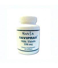 SAVIA Saviprax Milk Thistle 250mg 60softgels